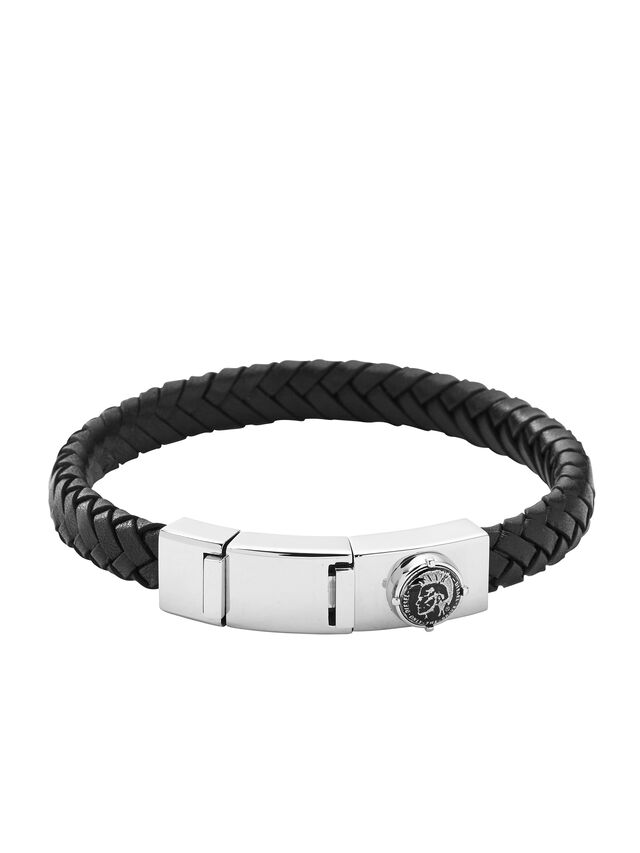Diesel - BRACELET DX0837, Noir - Bracelets - Image 1