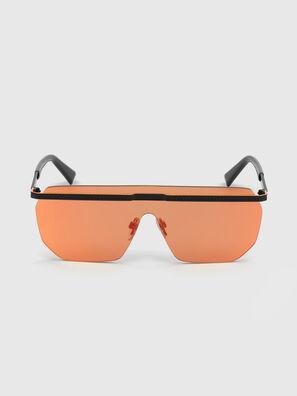 DL0259, Orange/Noir - Lunettes de soleil