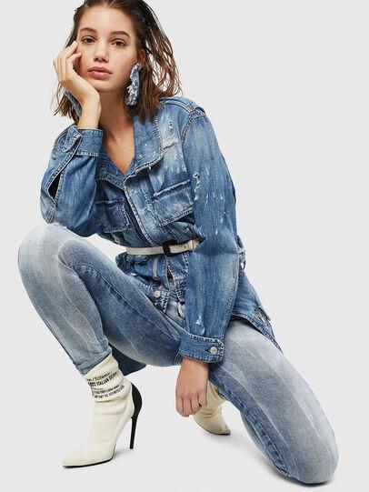Diesel - Slandy 083AR, Bleu Clair - Jeans - Image 3