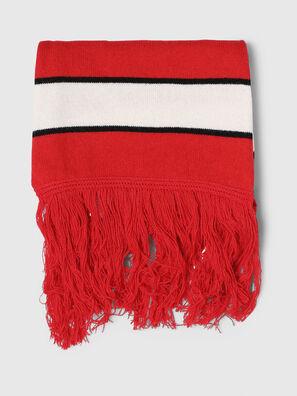 K-PIX, Rouge/Blanc - Écharpes