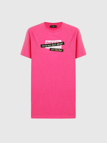 T-shirt avec bande brodée