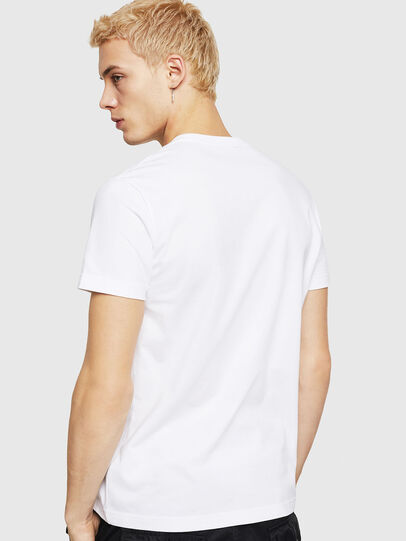 Diesel - T-DIEGO-DIV, Blanc - T-Shirts - Image 3