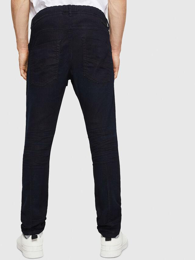 Diesel - Krooley JoggJeans 0829P, Bleu Foncé - Jeans - Image 2