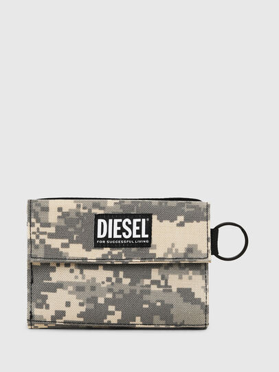 Diesel - YOSHI, Gris - Petits Portefeuilles - Image 1