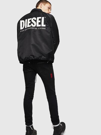 Diesel - J-AKIO-A, Noir - Vestes - Image 6