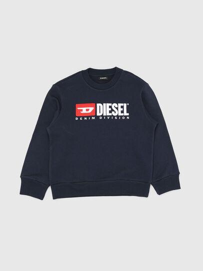 Diesel - SCREWDIVISION OVER, Bleu Marine - Pull Cotton - Image 1
