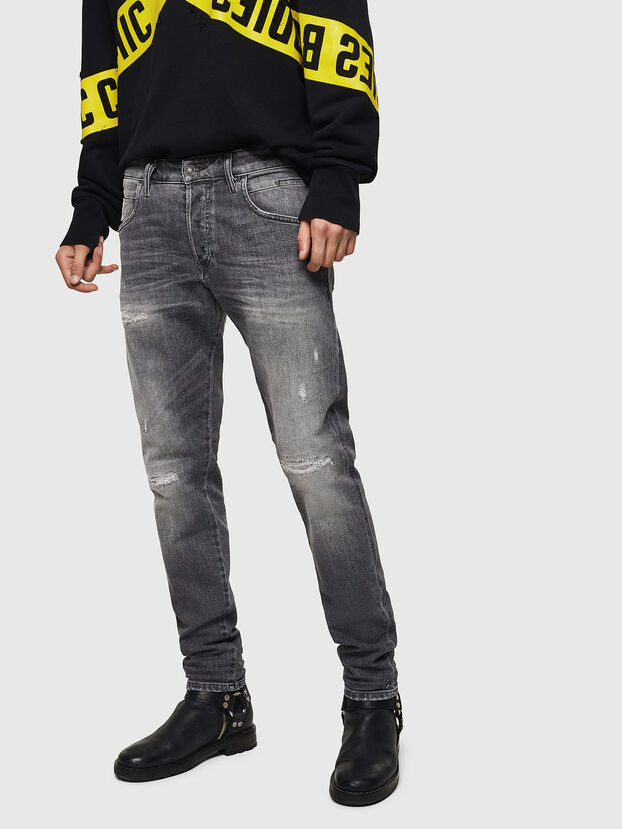 D-Bazer 0890F, Gris Clair - Jeans