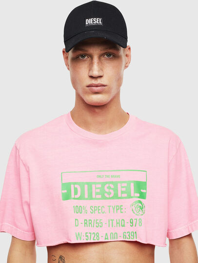 Diesel - T-CROPPY, Rose - T-Shirts - Image 1