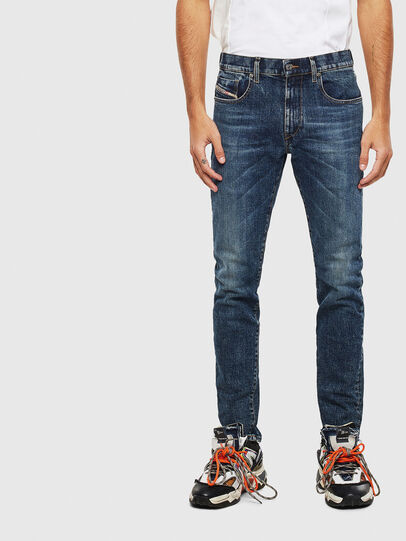 Diesel - D-Strukt 009AR, Bleu moyen - Jeans - Image 1