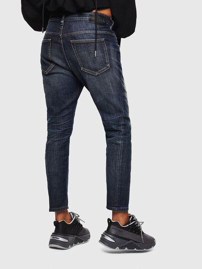 Diesel - Fayza 0096U, Bleu Foncé - Jeans - Image 2