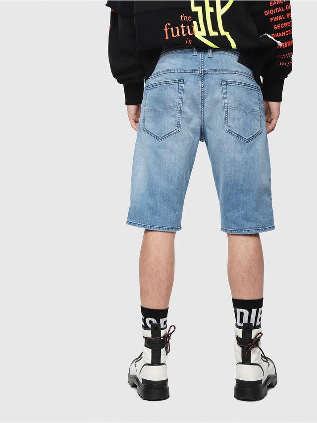 Diesel - THOSHORT, Bleu Clair - Shorts - Image 2
