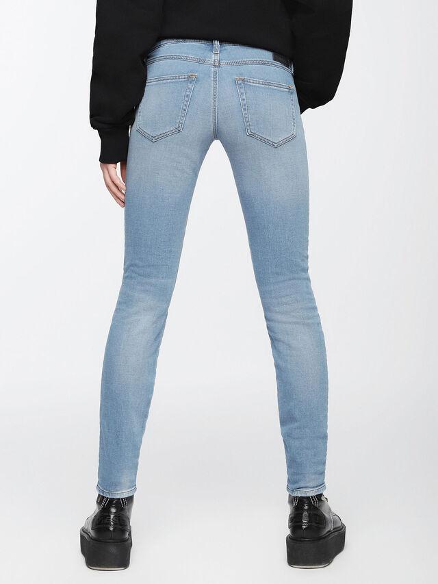 Diesel - Gracey JoggJeans 084UA, Bleu Clair - Jeans - Image 2