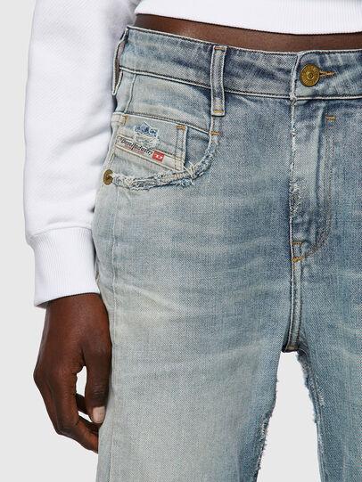 Diesel - Fayza 09A04, Bleu Clair - Jeans - Image 4