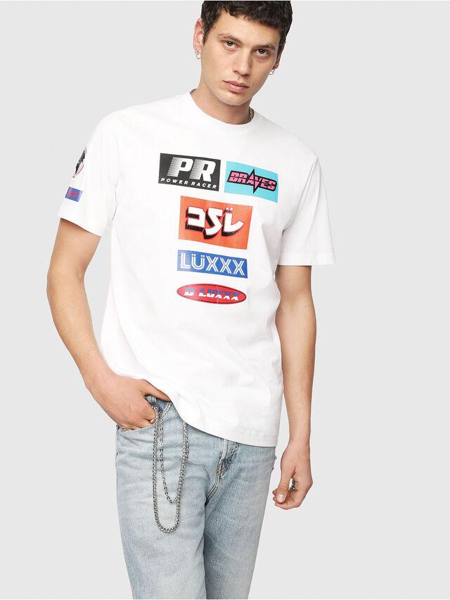 Diesel - T-JUST-YA, Blanc - T-Shirts - Image 1