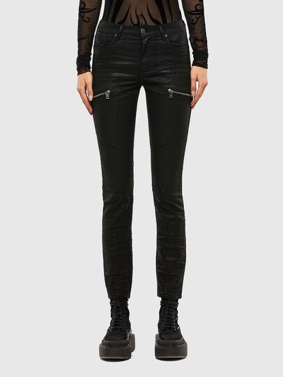 Diesel - D-Ollies JoggJeans® 069RK, Noir/Gris foncé - Jeans - Image 1