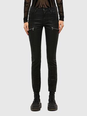 D-Ollies JoggJeans 069RK, Noir/Gris foncé - Jeans