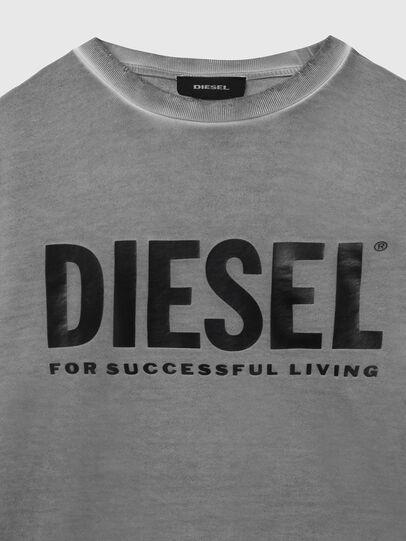 Diesel - S-GIR-DIVISION-LOGO, Gris foncé - Pull Cotton - Image 3