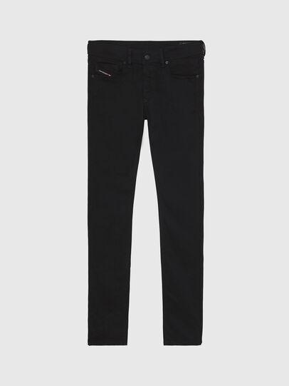 Diesel - Sleenker A69EI, Noir/Gris foncé - Jeans - Image 1