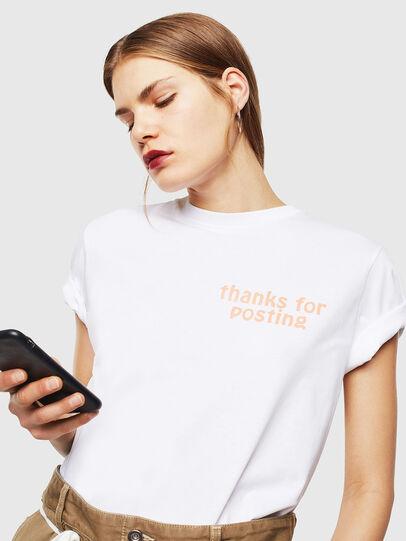 Diesel - T-DIEGO-J20, Blanc - T-Shirts - Image 6