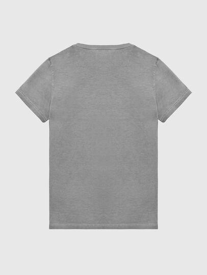 Diesel - T-DIEGO-LOGO, Gris foncé - T-Shirts - Image 2