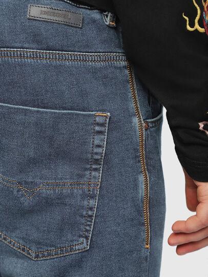 Diesel - Krooley JoggJeans 084UB, Bleu moyen - Jeans - Image 5