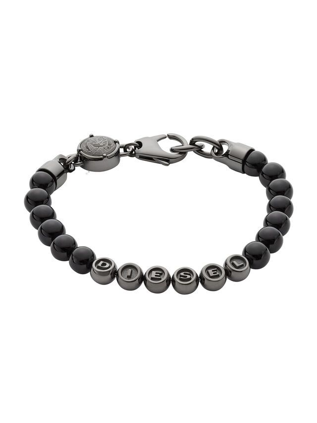 Diesel - BRACELET DX0950, Noir - Bracelets - Image 1