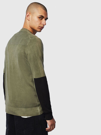 Diesel - K-PACHY, Vert Militaire - Pull Maille - Image 2
