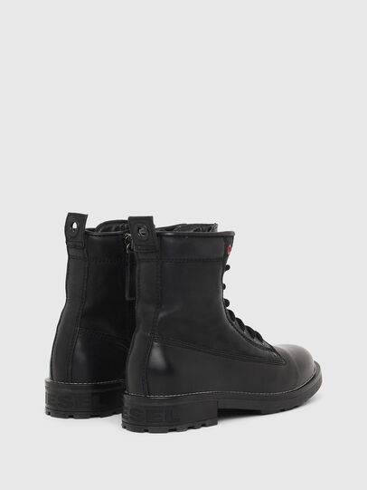 Diesel - D-THROUPER DBB W Z, Noir - Bottines - Image 3