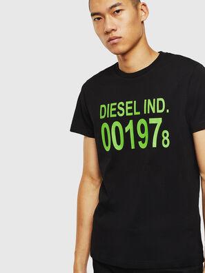 T-DIEGO-001978, Noir - T-Shirts