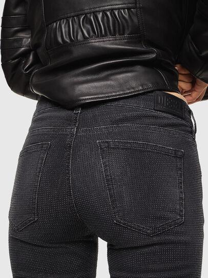 Diesel - D-Ollies JoggJeans 0093H, Noir/Gris foncé - Jeans - Image 5