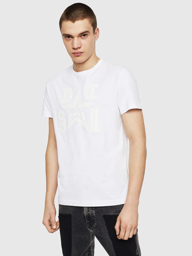 T-DIEGO-A8, Blanc - T-Shirts
