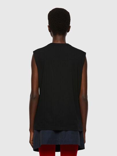 Diesel - T-PUNKYERN, Noir - T-Shirts - Image 2