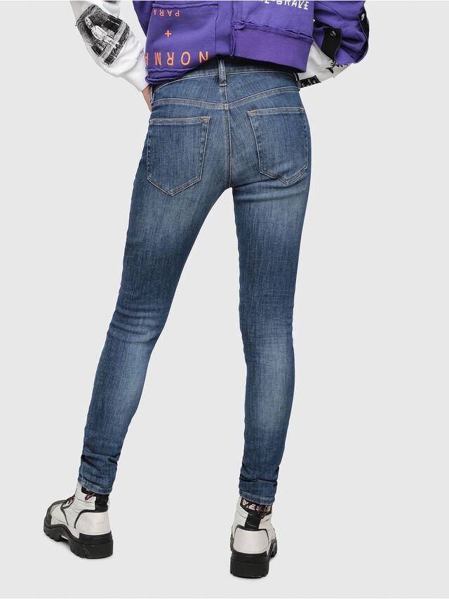 Diesel - Slandy 088AV, Bleu moyen - Jeans - Image 2