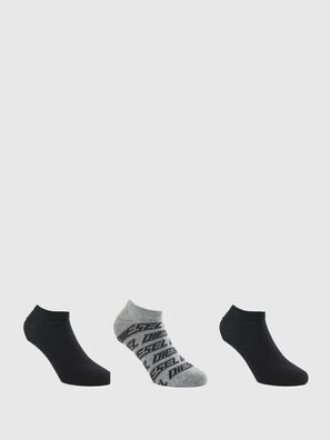 SKM-GOST-THREEPACK, Gris/Noir - Chaussettes
