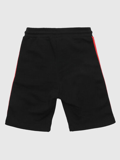 Diesel - PHITOSHI, Noir/Rouge - Shorts - Image 2
