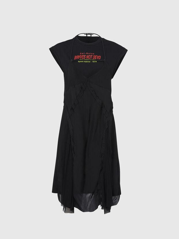 D-ALISHA, Noir - Robes