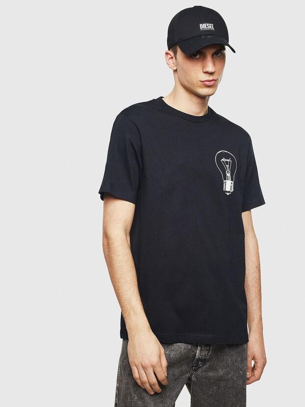 T-JUST-T22, Noir - T-Shirts