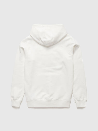 Diesel - DxD-21, Blanc - Pull Cotton - Image 2