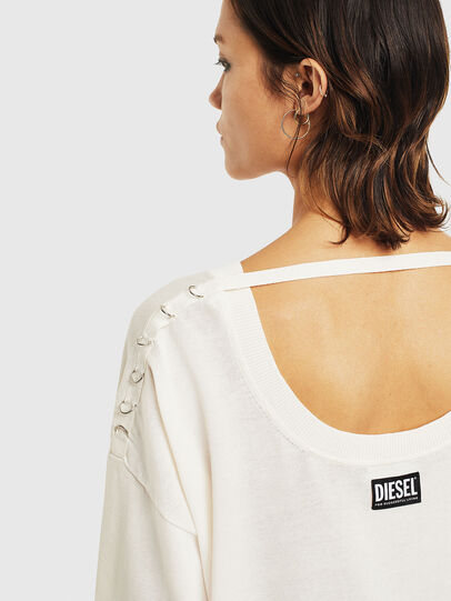 Diesel - M-PERLA-A, Blanc - Pull Maille - Image 7