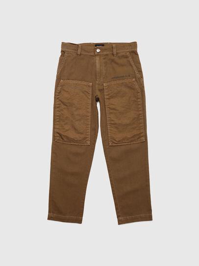 Diesel - PTRENT, Marron - Pantalons - Image 1