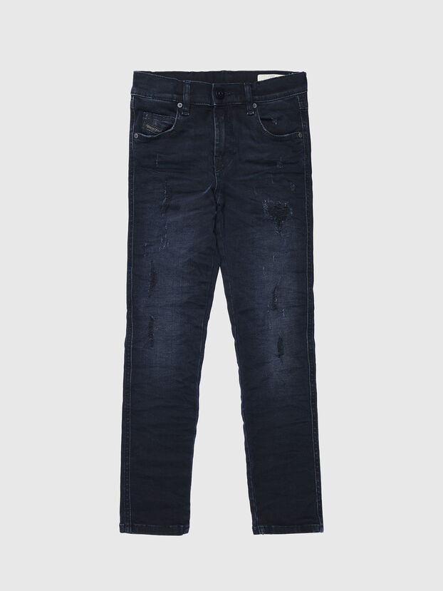 BABHILA-J, Bleu Foncé - Jeans