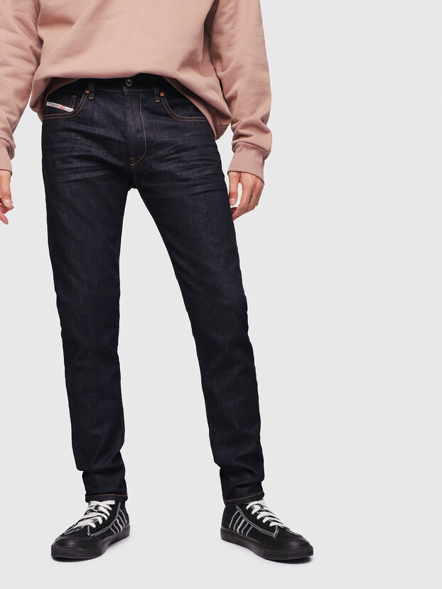 D-Strukt 082AC, Bleu Foncé - Jeans