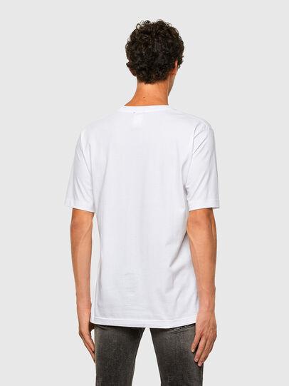Diesel - T-TUBOLAR-N1, Blanc - T-Shirts - Image 2