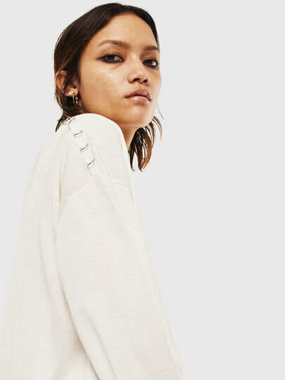 Diesel - M-PERLA-A, Blanc - Pull Maille - Image 5