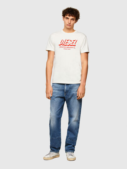 Diesel - T-DIEGOS-A5, Blanc - T-Shirts - Image 4