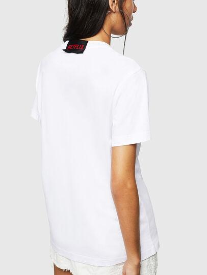 Diesel - LCP-T-DIEGO-BOGOTA, Blanc - T-Shirts - Image 4