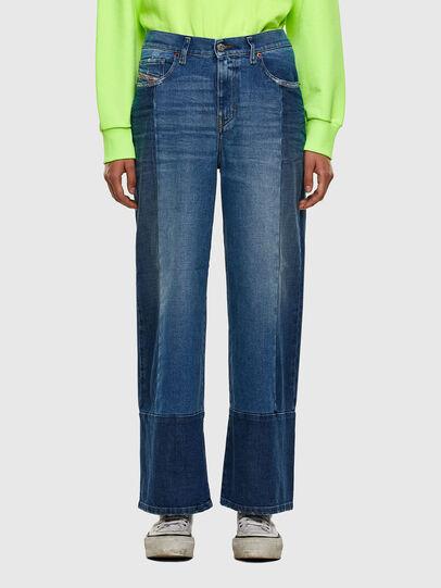 Diesel - Widee 009EU, Bleu Clair - Jeans - Image 1
