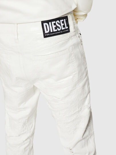 Diesel - Mharky 069GY, Blanc - Jeans - Image 5