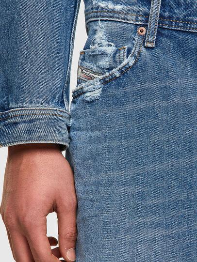 Diesel - D-WILLOH-X, Bleu Clair - Shorts - Image 4