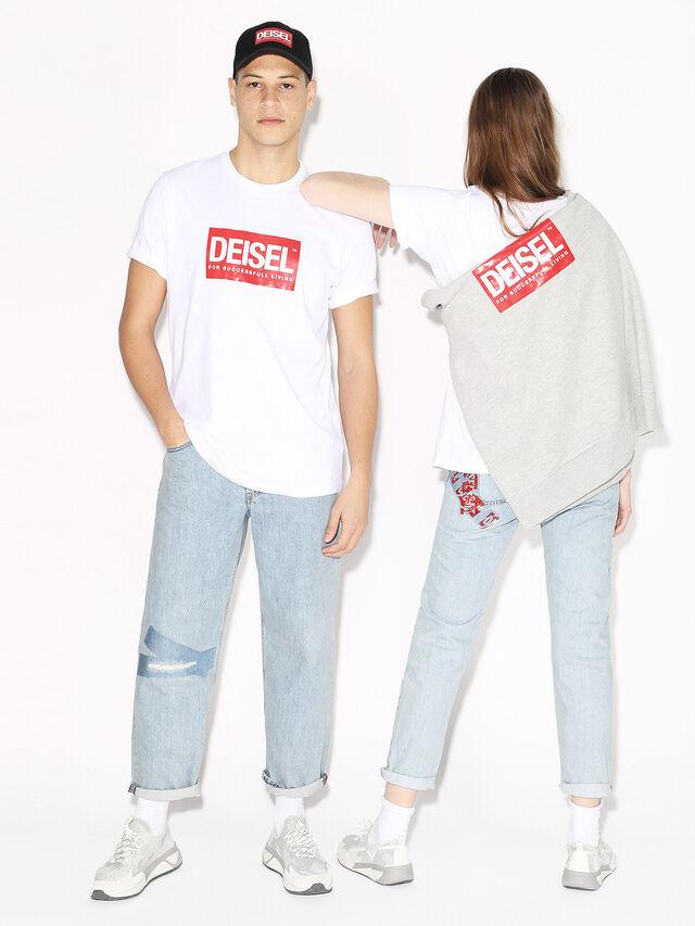 Diesel - DEIS-JUST, Blanc - T-Shirts - Image 4